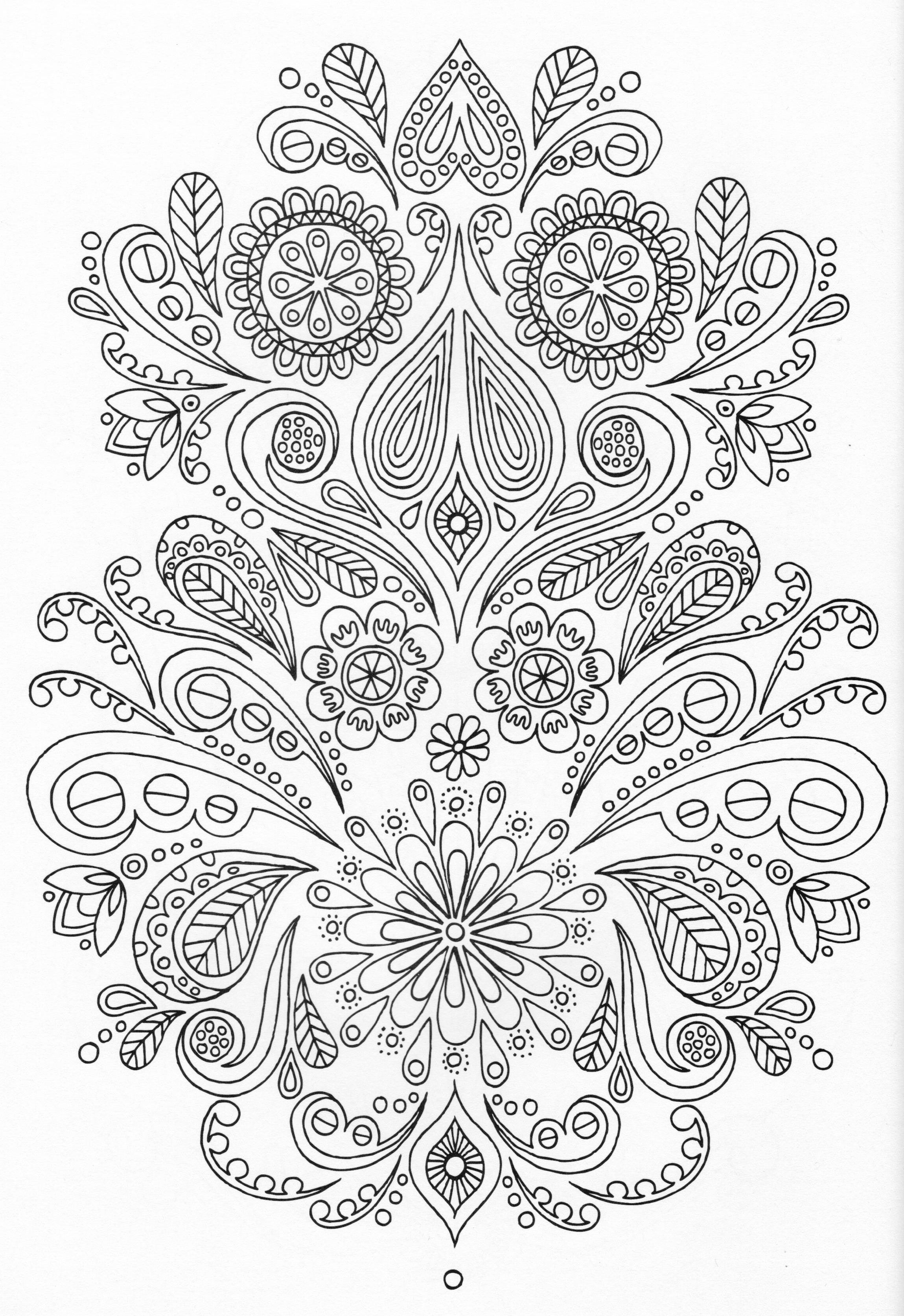 Security Check Required Mandala Colouring PagesPaisley Coloring