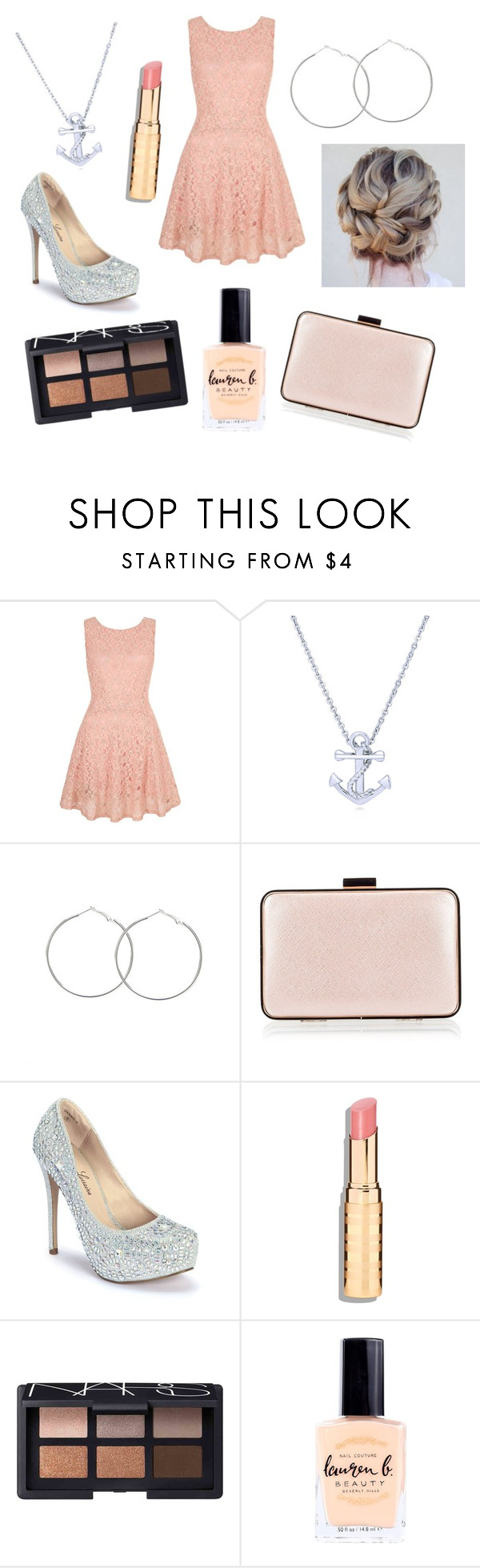 """""""Smile more :)"""" by rojoubdalia on Polyvore featuring Yumi, BERRICLE, Coccinelle, Lauren Lorraine, NARS Cosmetics and Lauren B. Beauty"""