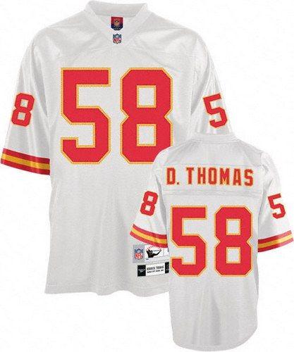 low priced e99ca d46fc Mitchell And Ness Kansas City Chiefs #58 Derrick Thomas ...
