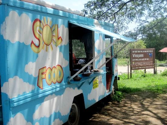Sol Food 2 In Vieques Dining On A Budget Located Just Outside