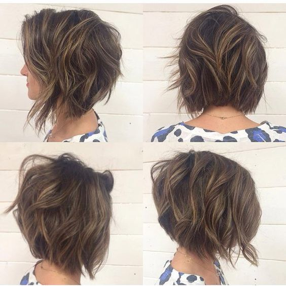 Medium Hair 17 Patterns of Hair Shaded Hair and Colorations United For You To Inspire