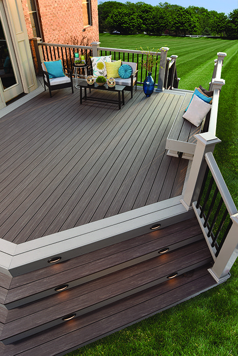 As The Name Suggests AZEK's Vintage Collection Gives Your Deck A Delectable Backyard Deck Design Ideas Collection