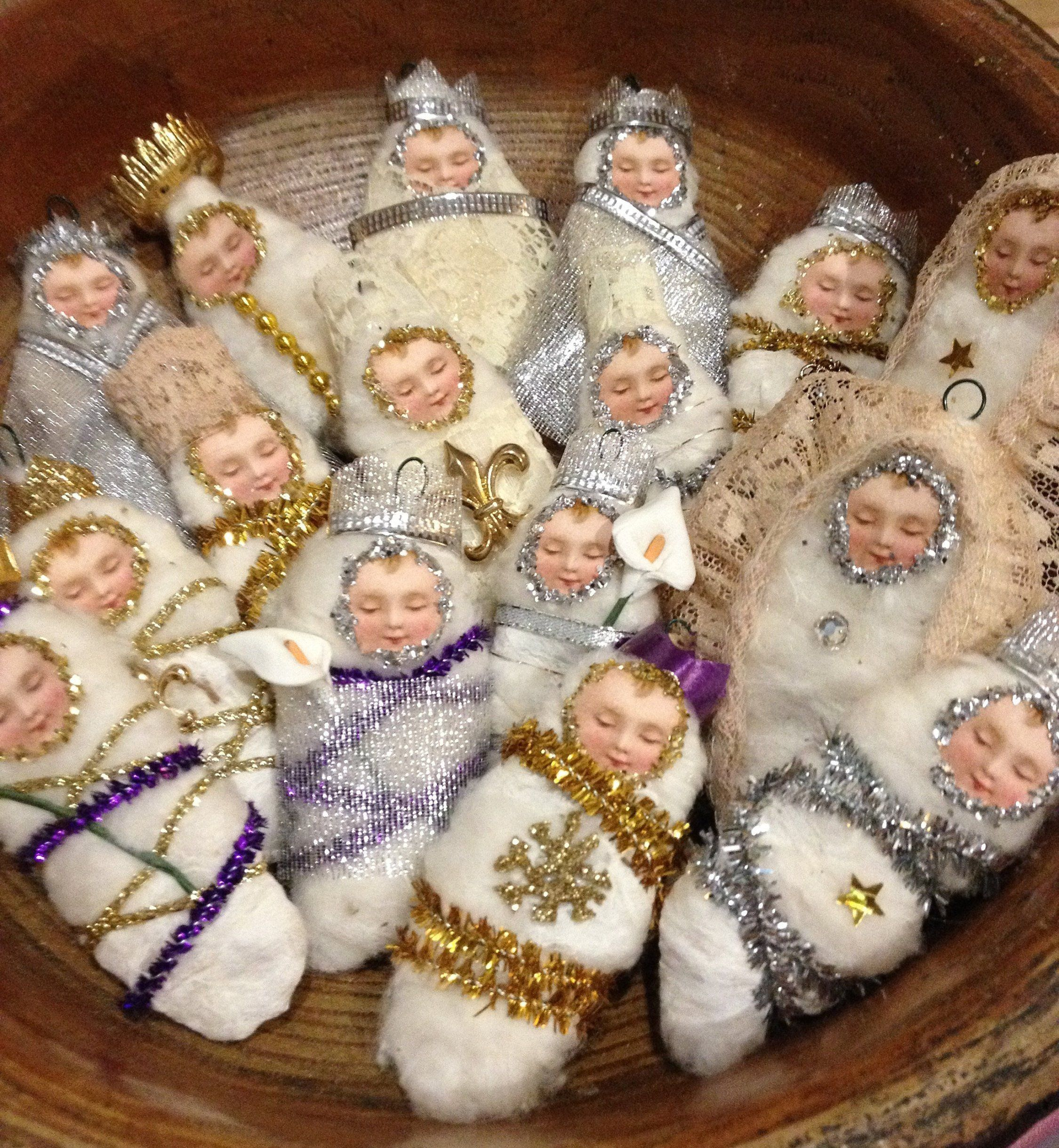Baby Jesus ornaments for your Christmas tree, to remember ...