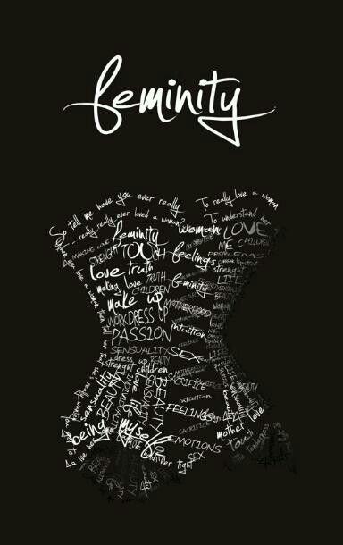 Feminity   For Tshirts   Art, Love truths, Design
