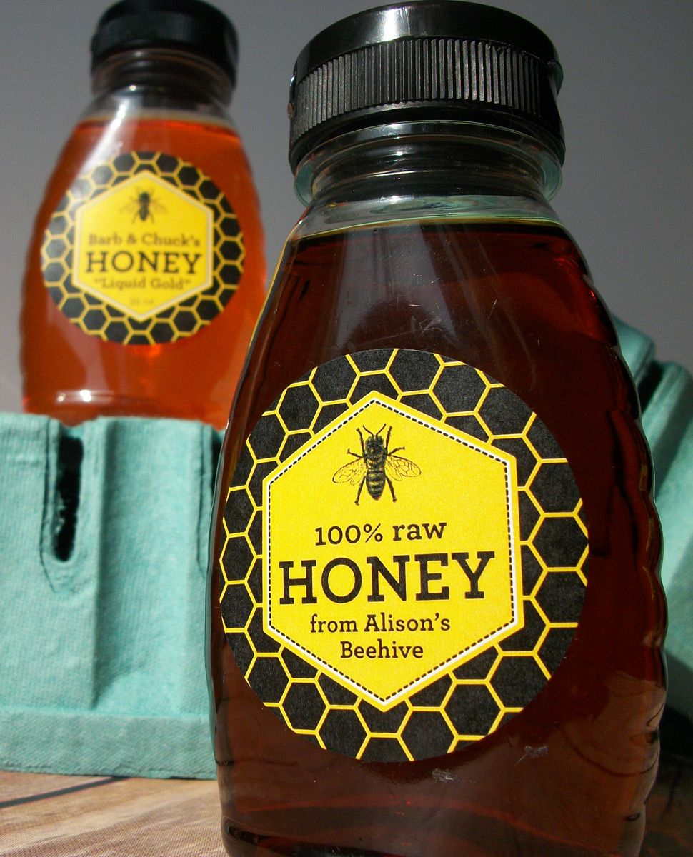 custom beehive honey canning u0026 bottle labels beehive bees and
