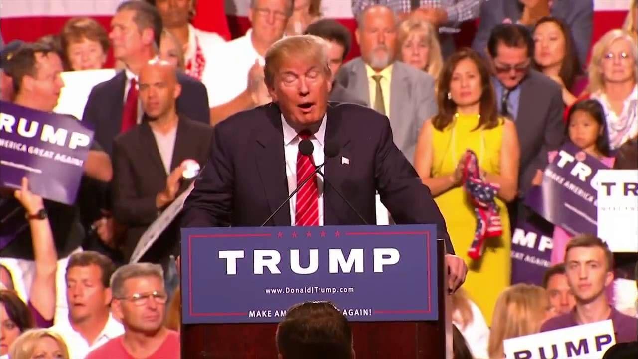 Donald Trump Phoenix Arizona July 11 2015 Full Speech Donald J Trum Trump Scandal