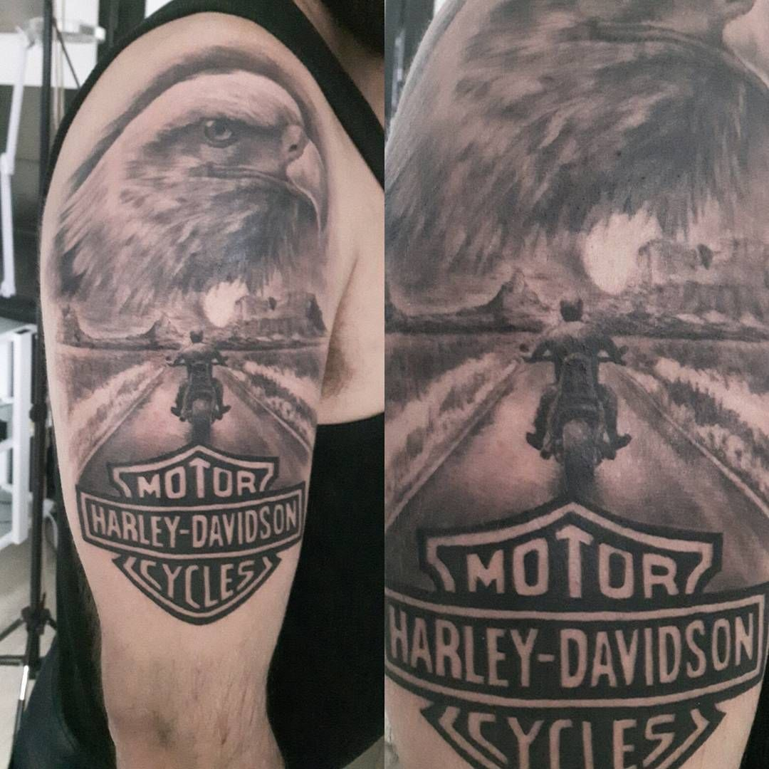Harley Davidson Tattoo Tattoo Pinterest Tattoos Harley