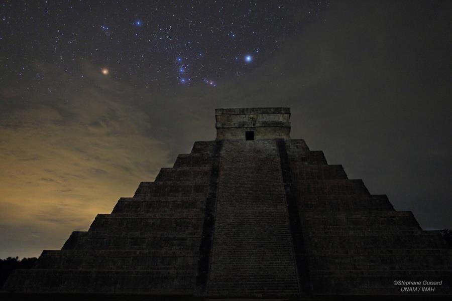 Orion over El Castillo
