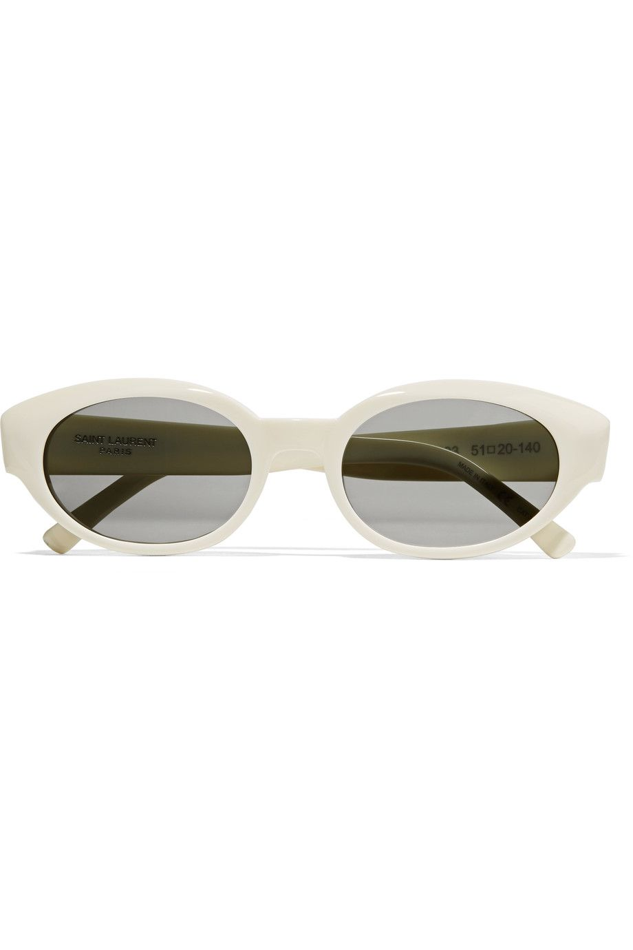 e4ab962f56a SAINT LAURENT SL 120 Lola round-frame acetate sunglasses.  saintlaurent