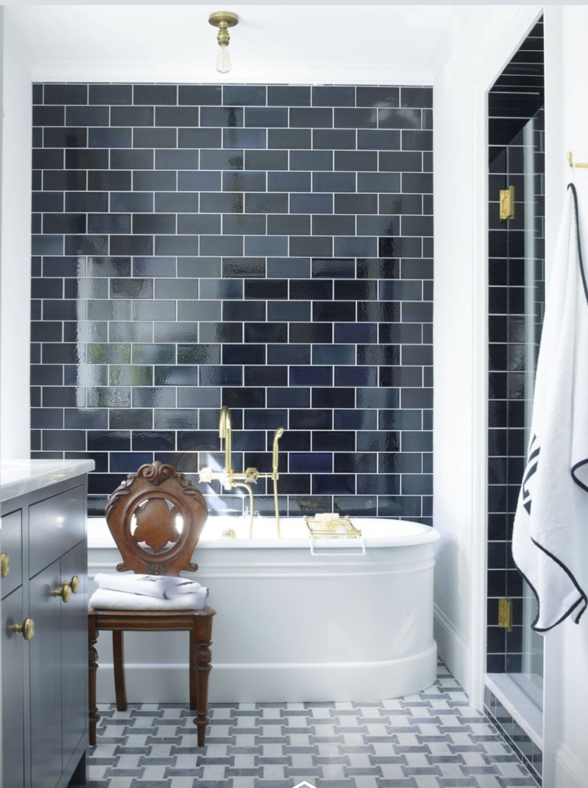 Grey Bathroom in 2020 Bathroom design, Bathroom interior