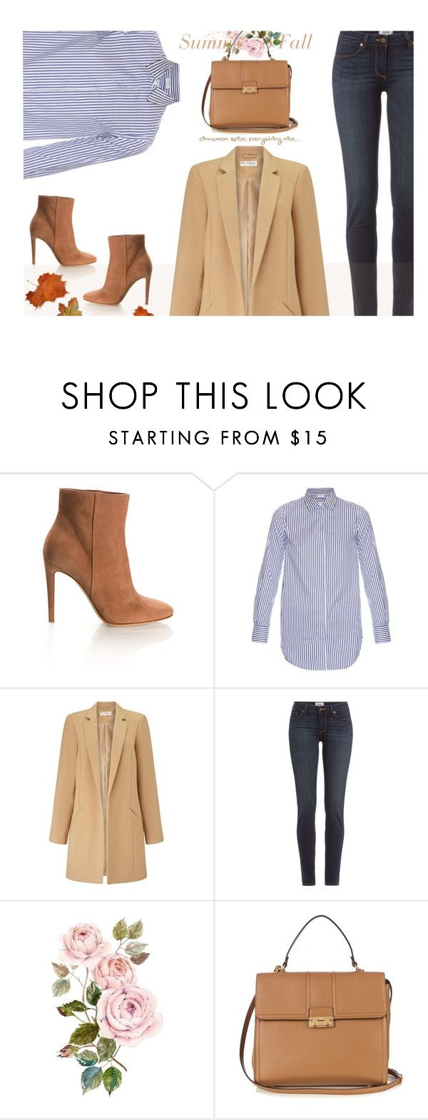 """""""Cinnamon Spice, Everything Nice ~ Fall!! Waiting...."""" by idocoffee ❤ liked on Polyvore featuring Gianvito Rossi, Brunello Cucinelli, Miss Selfridge, Paige Denim and Lanvin"""