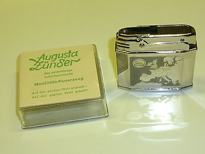 AUGUSTA AUTOMATIC LIGHTER (MAYER & CO.) - FEUERZEUG - 1951 - OVP - GERMANY Sammeln & Seltenes:Tabak, Feuerzeuge & Pfeifen:Feuerzeuge:Alt (vor 1970)