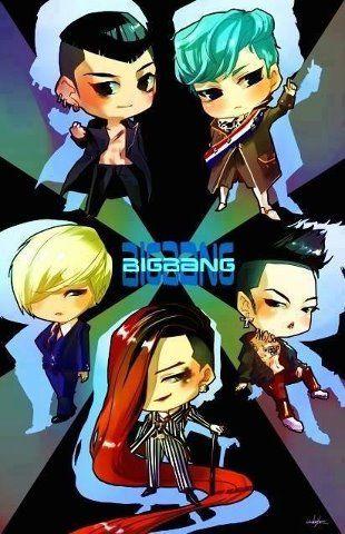 Big Bang is so cute like this :)