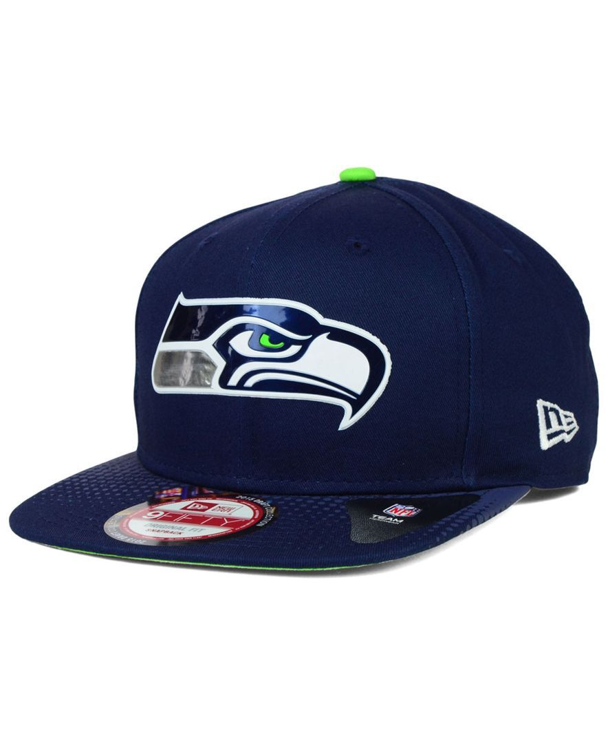 7fab8670692 New Era Seattle Seahawks 2015 Nfl Draft 9FIFTY Snapback Cap