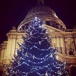 Christmas at St Paul's #christmas #London #instalondon #londonforyou #thisislondon #prettylittlelondon #Londres #Navidad