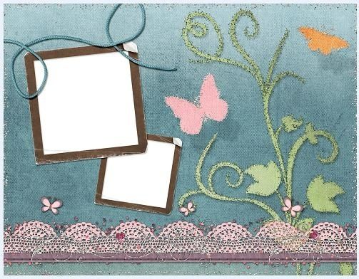Collage style cute photo frame 14 Free psd in Photoshop psd ( .psd ...