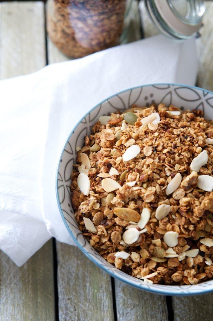 Granola maison ig bas ig bas pinterest granola bas et petit d jeuner - Idee petit dejeuner sain ...