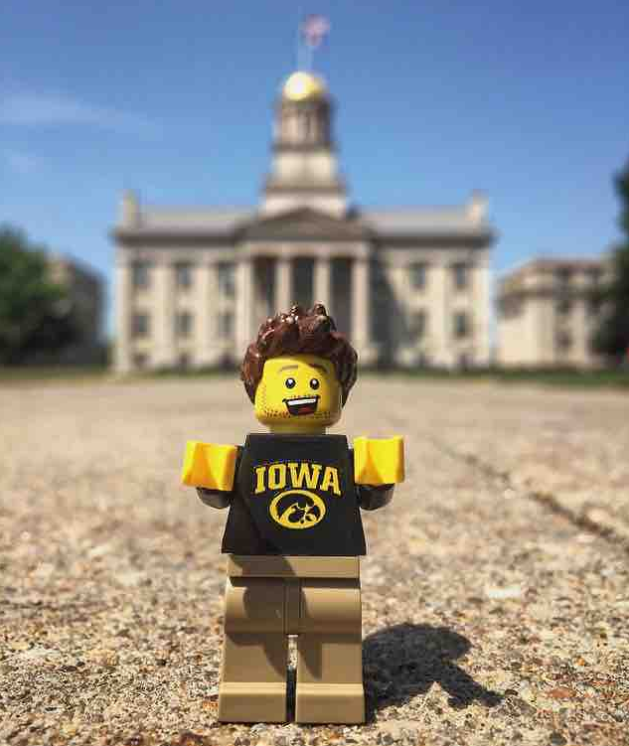 Even in the world of LEGOs, Hawkeye Pride is all around. | Iowa ...