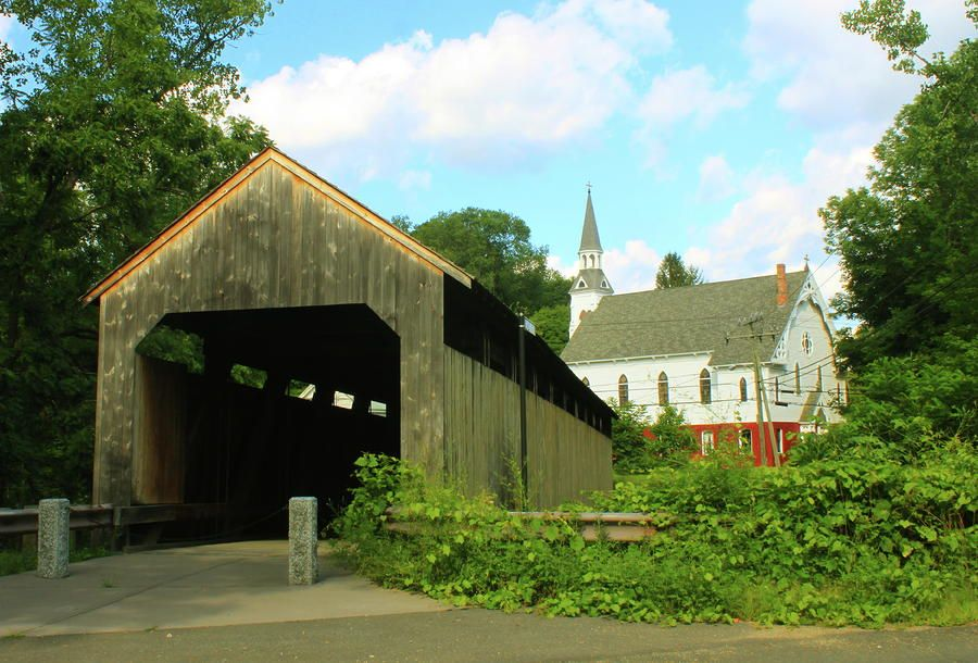 Conway Massachusetts Dylan My Wife And I Drove Over To Conway Massachusetts Where He Lived To Meet With Him A Covered Bridges Massachusetts Art Conway