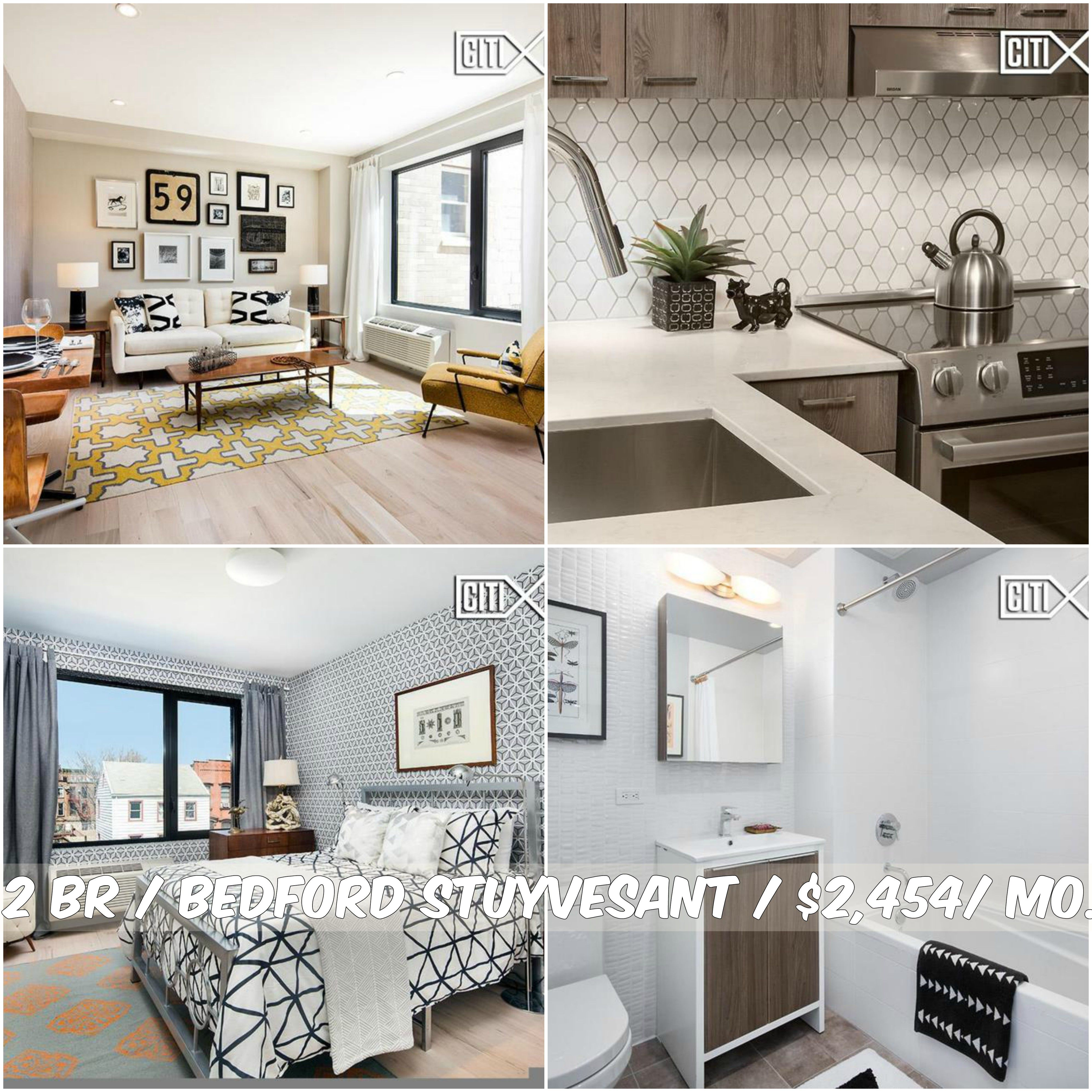 2 BR apt for rent in Bedford Stuyvesant $2,454/mo.Garage, Bicycle Room, Roof Deck, Outdoor Space. Contact us for details. Web ID:613474. #NYCApartments #MovingToNYC #NYCrentals #ApartmentHunting #Moving #NYC #NoFeeApt