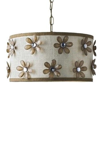 Lizzie Floral Jewel Hanging Lamp by Swoon Decor on @HauteLook