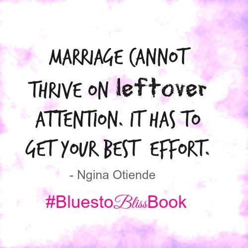 Are You Giving Your Marriage Your BEST Attention