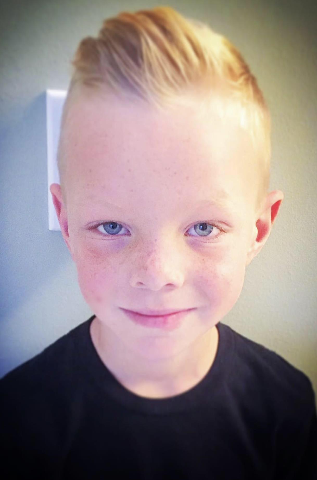 child (boy) haircut 9-12 $16 hair cut on 9 year old   hair
