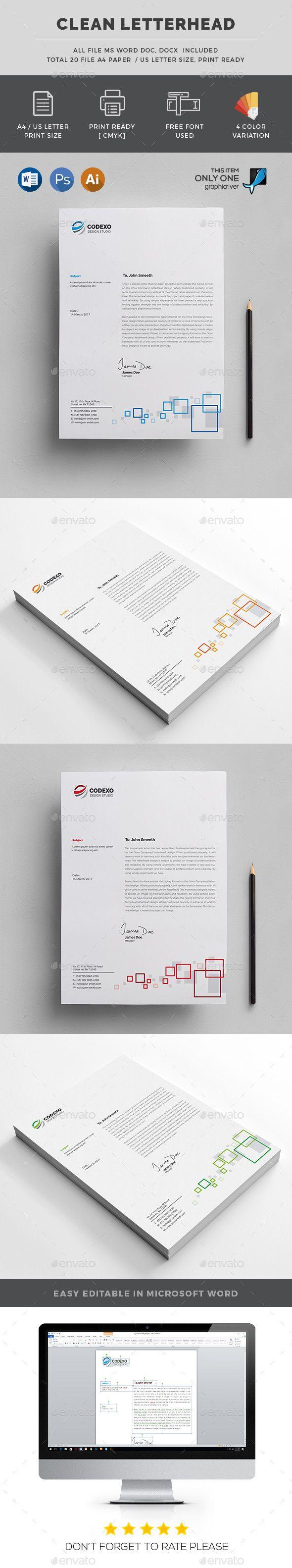 Letterhead | Fonts-logos-icons | Letterhead, Letterhead