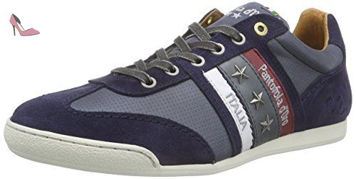Imola Romagna Uomo Low, Baskets Homme, Bleu (Dress Blues), 42 EUPantofola D'oro