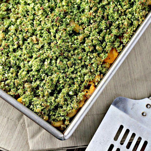 Broccoli-Basil Mac and Cheese   Mac cheese, Veggies and Wells