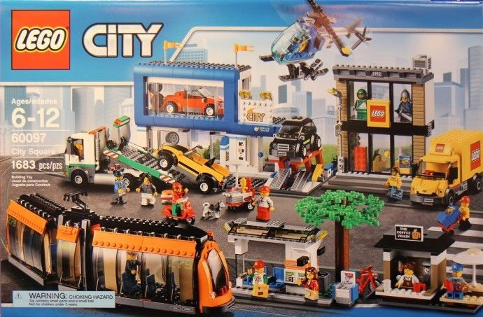 2015 Lego City 60097 City Square In Hand New Sealed Lego City Sets Lego City Lego Sets