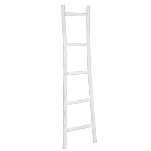 Scala decorativa bianca in rovere decorative ladders - Scala decorativa ikea ...
