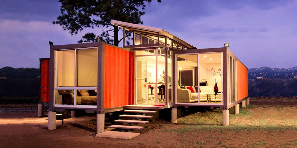 How much does it cost to build a container house uk in