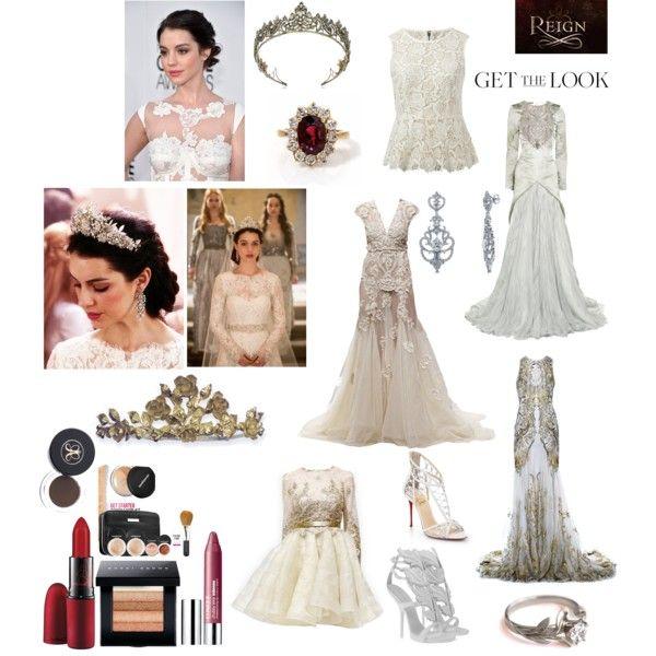 Reign mary queen of scots wedding dress google search for Reign mary wedding dress
