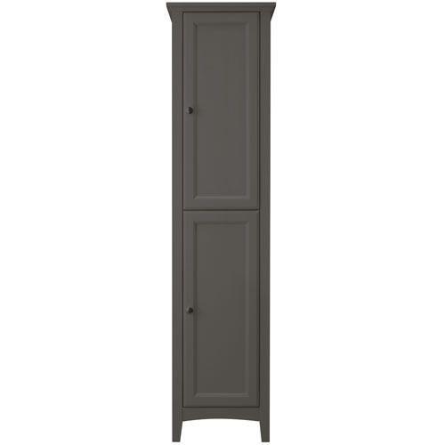 Savoy Charcoal Grey 400 Tall Unit Bathroom Storage Units Soft