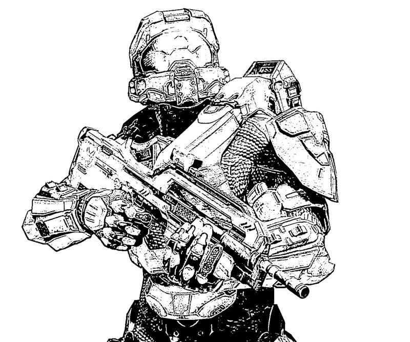 Be Able To Weapon Coloring News Apps Bible Coloringis Halo