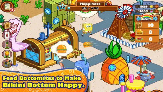 Top iPad App 19 SpongeBob Moves In Nickelodeon by
