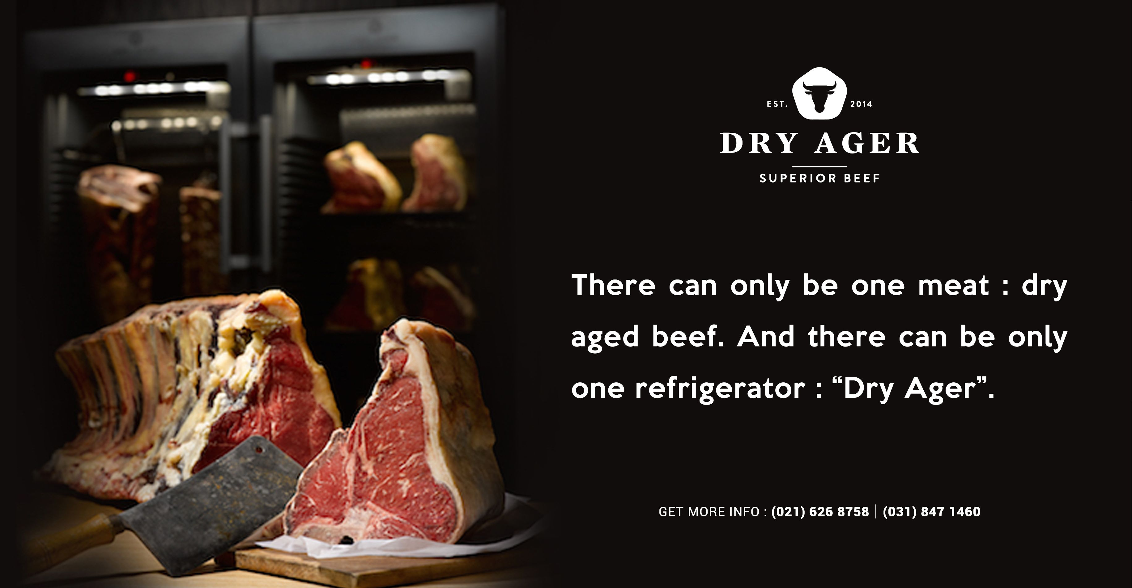 Awesome Dry Aged Meat Cabinets