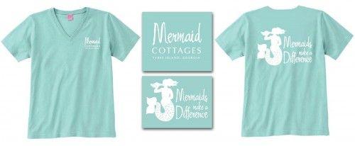 Mermaids Make A Difference Tees
