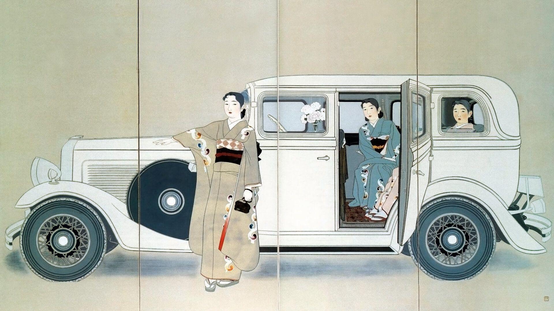 Yamakawa Shuho Sannin No Shimai 1920x1080 ポスターデザイン Pc用壁紙 壁紙