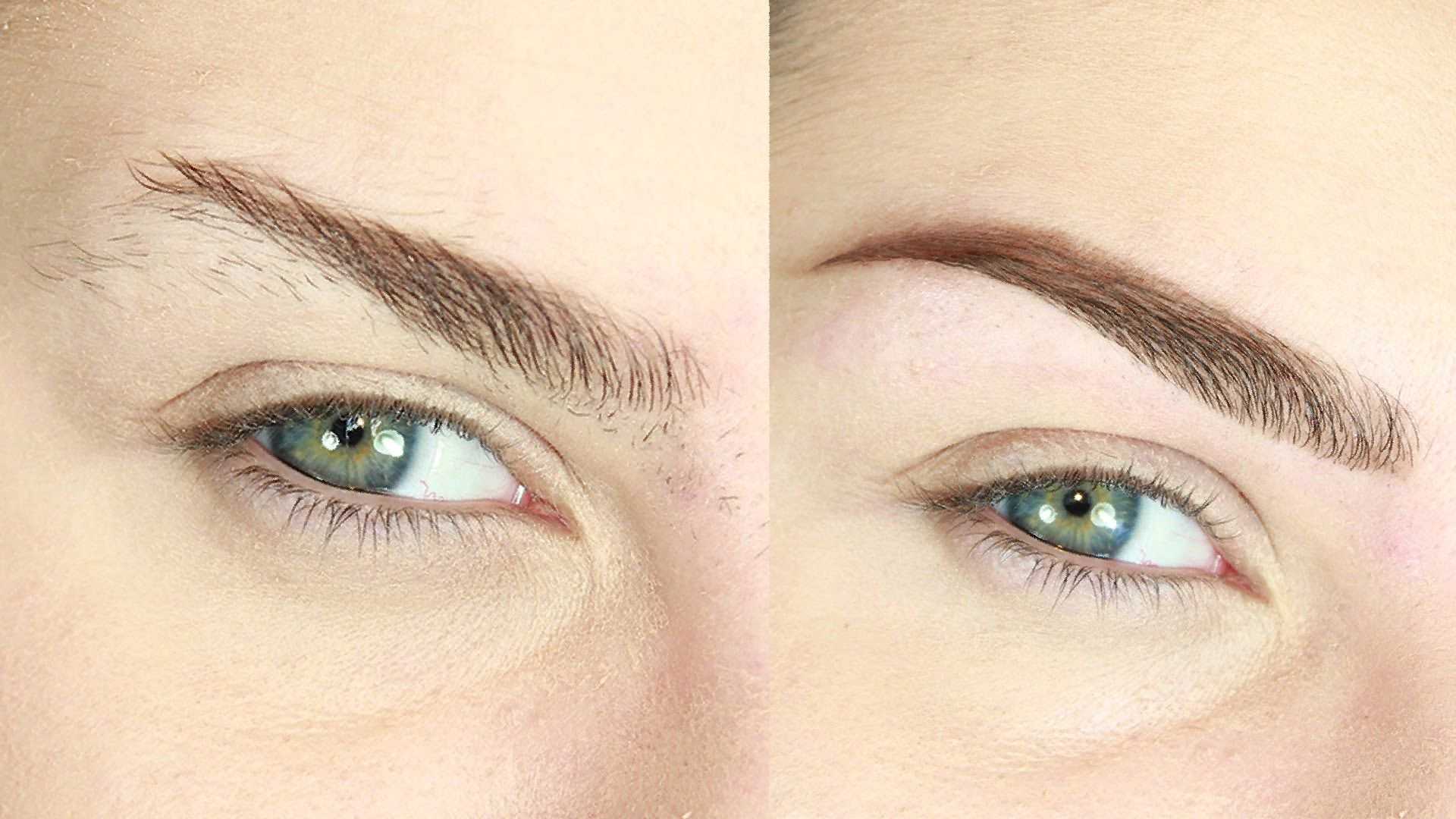 How To Shape Eyebrows At Home With Tweezers Simple Quick Hack