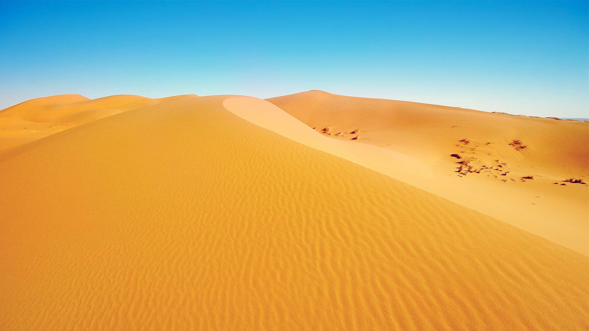 Sahara Desert Sand Wallpaper Desert Background Nature Desert Hills