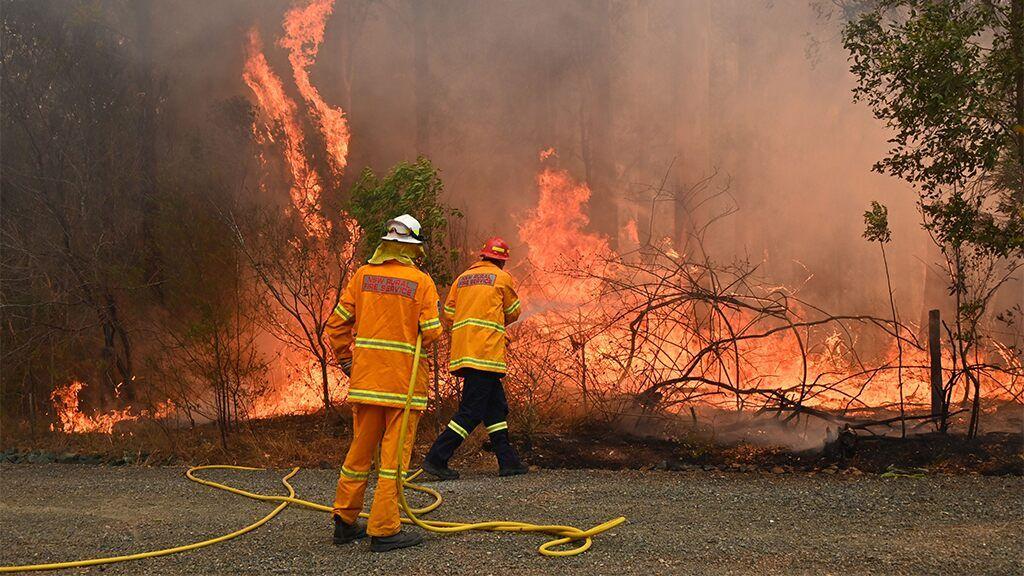 Australia wildfire victim's frantic last words to daughter