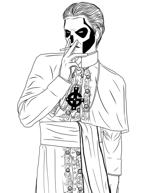 Holy hell | Hallowen | Pinterest | Ghost bc, Band ghost and Heavy metal