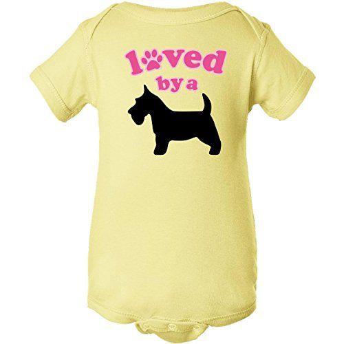 inktastic Schnauzer Dog Gift Infant Creeper