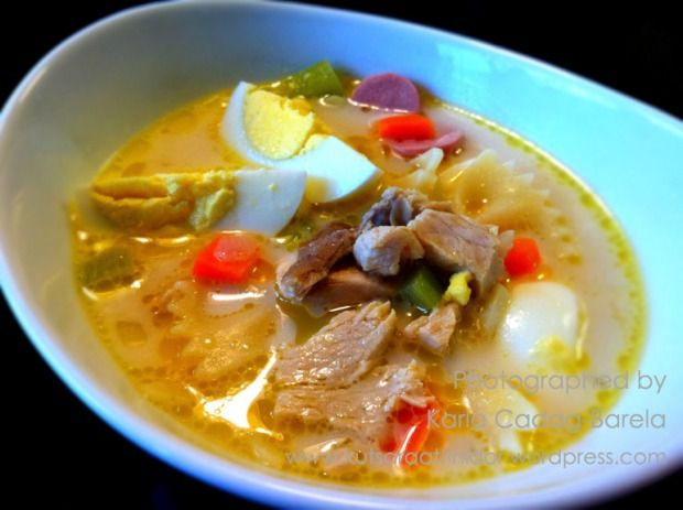 Chicken Sopas (Chicken Macaroni Soup) - I'm making this today!