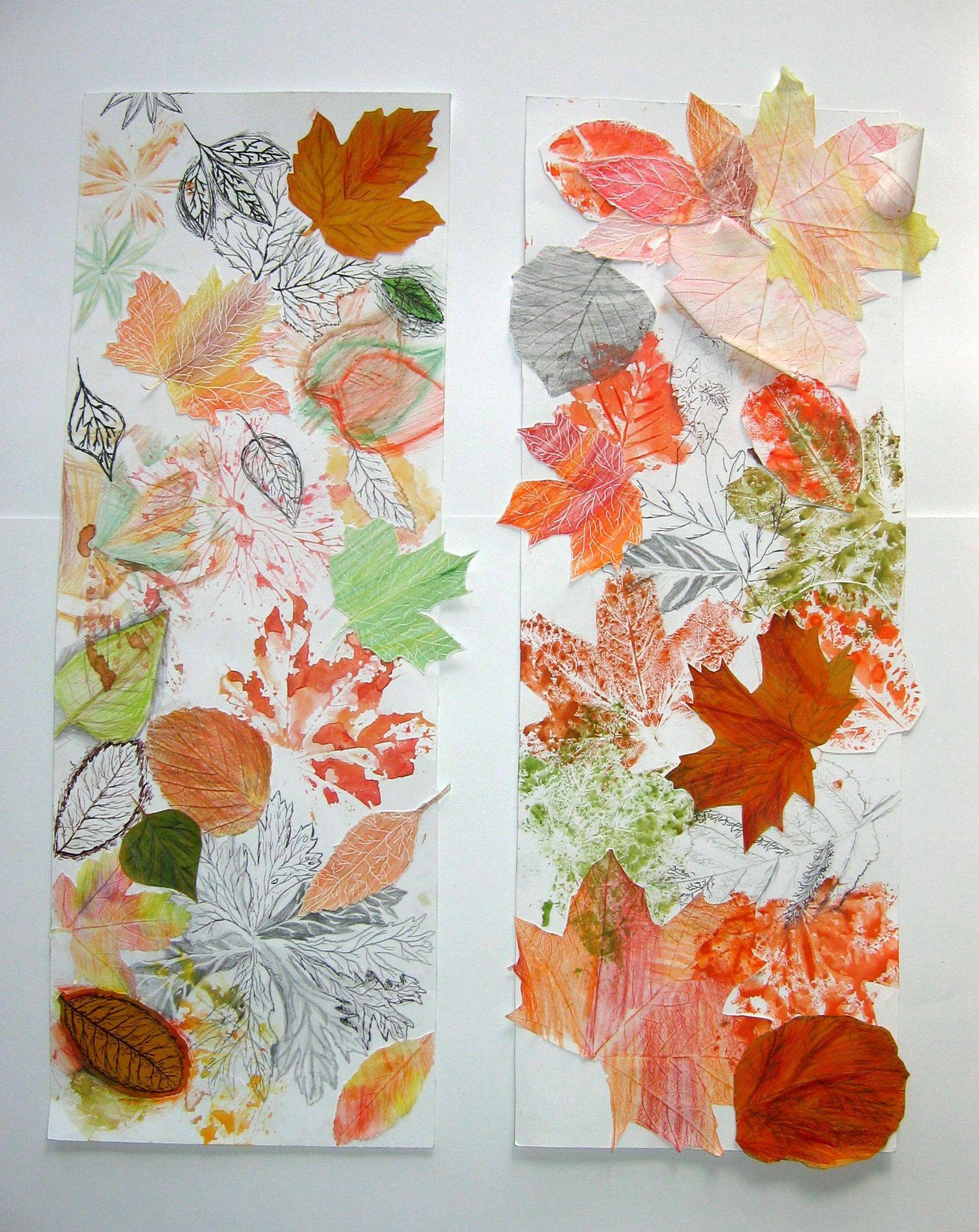 Krása podzimního listu
