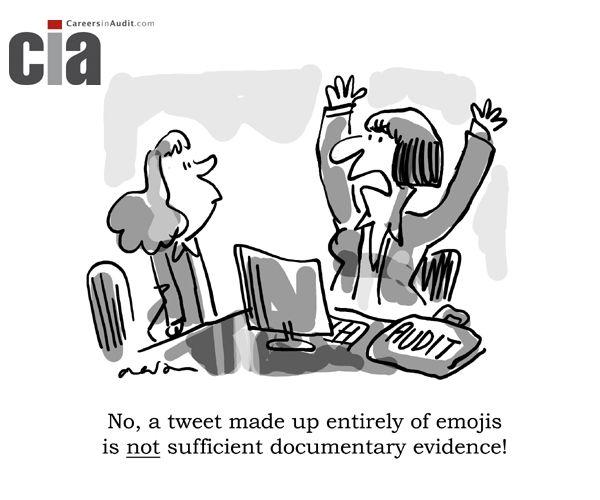 Audit Cartoon Documentary Evidence Accounting Humor Funny Friday Memes Work Humor