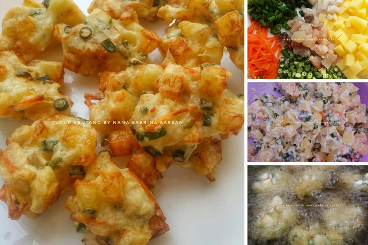Resipi Cucur Kentang Paling Mudah Dan Sedap Yang Boleh Dihasilkan Untuk Sajian Keluarga Food Easy Meals Recipes