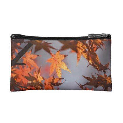 Fall Wonderland of Autumn Colour Cosmetic Bag - classic gifts gift ideas diy custom unique